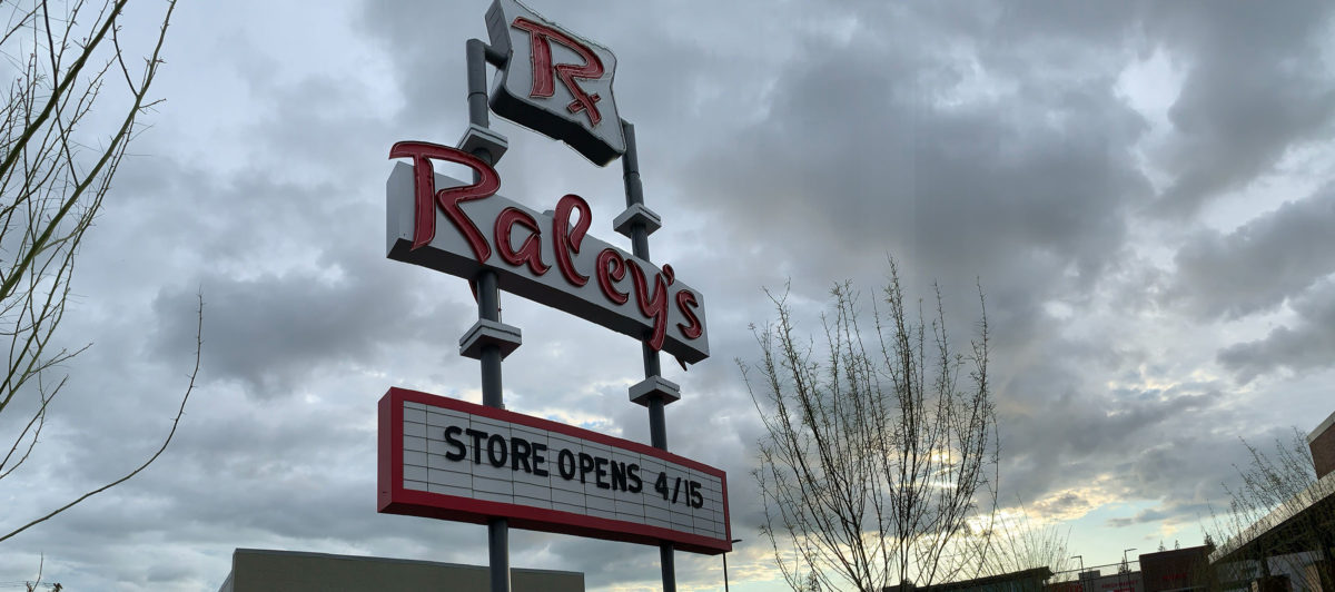 Raley's Sign