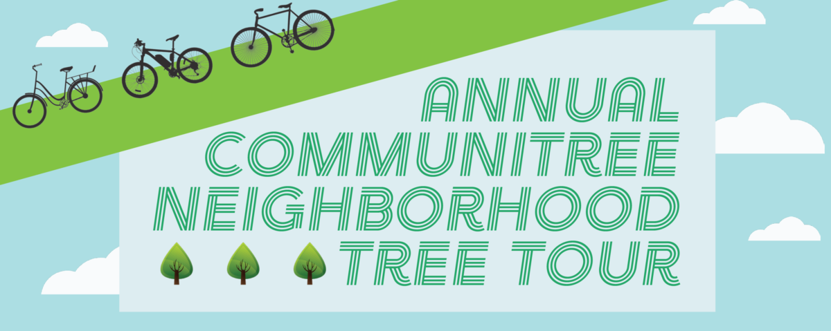 CommuniTree Neighborhood Tree Tour Hero Graphic